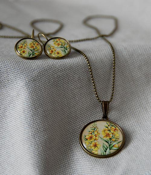 Divizna - náhrdelník