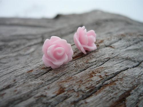 Náušnice Růžičky Sweet Rose mini napichovačky