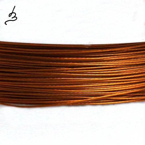 Ocelové lanko měděné 0,38