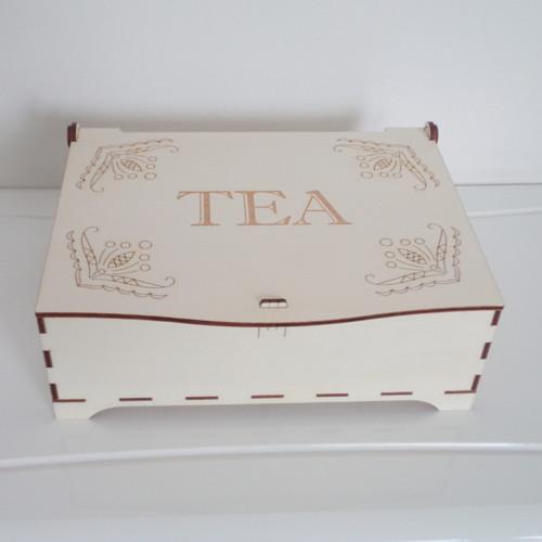 Kazeta na čajové sáčky - 16 komor
