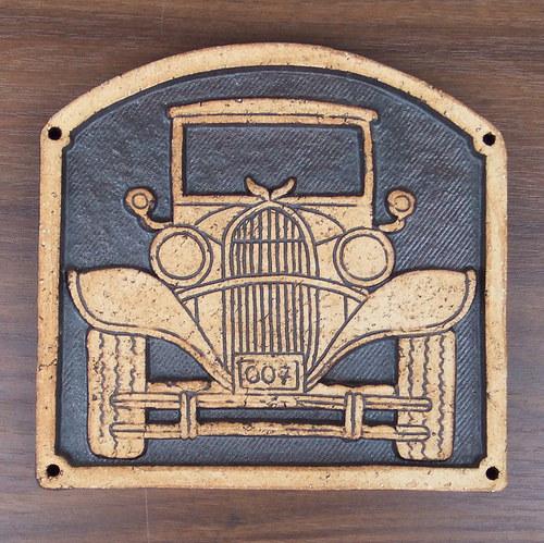 Kachlík č.10 - Auto