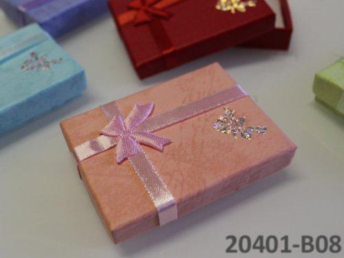 20401-B08 Dárková krabička nízká 5/7/1.5 RŮŽOVÁ