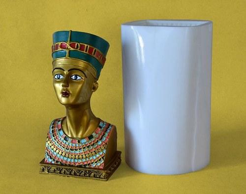 Forma na svíčky Nefertiti - výška 20,5cm