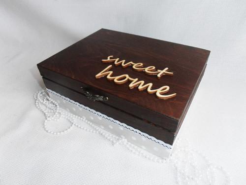 Krabička na čaj - Home swett