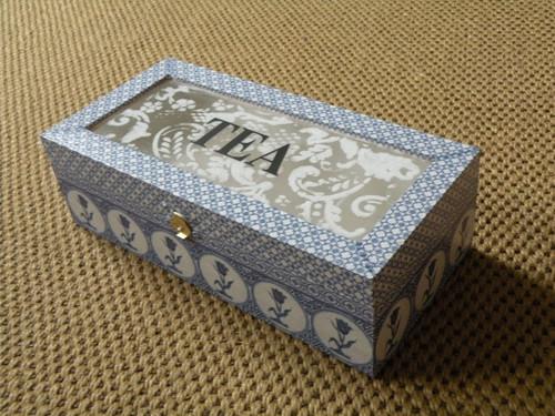Krabička na čaj -  Holandská VÝPRODEJ