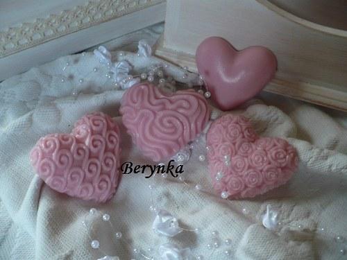 Srdíčka - vonná dekorace