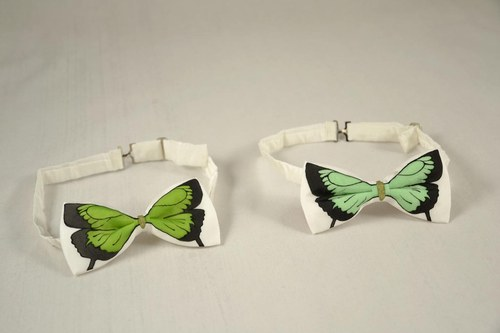 Motýlek - zelený - SLEVA
