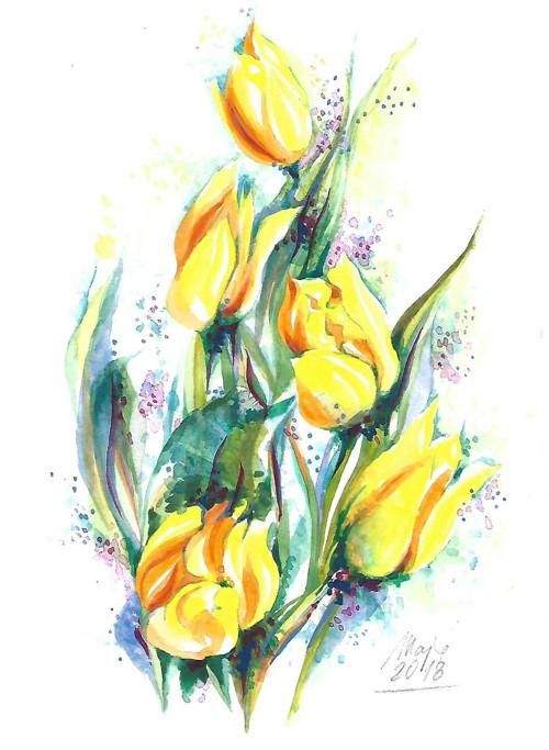 ...tulipány...