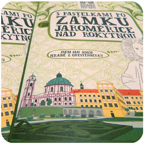 S pastelkami po zámku Jaroměřice nad Rokytnou
