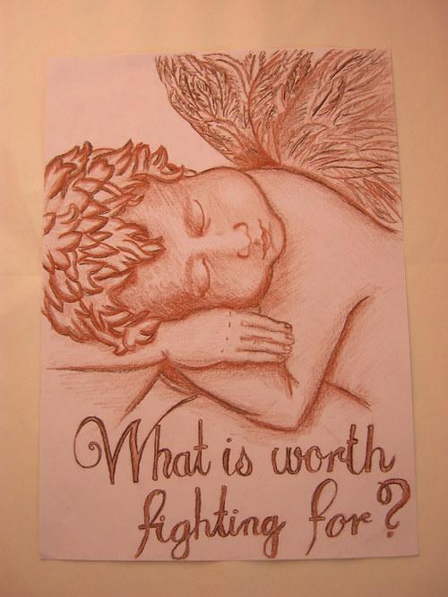 Anděl ♥ za co má cenu bojovat ...