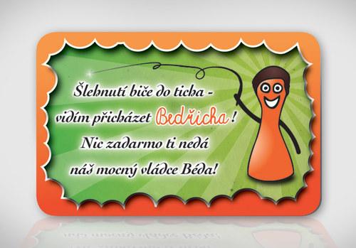 Poetická magnetka se jménem Bedřich