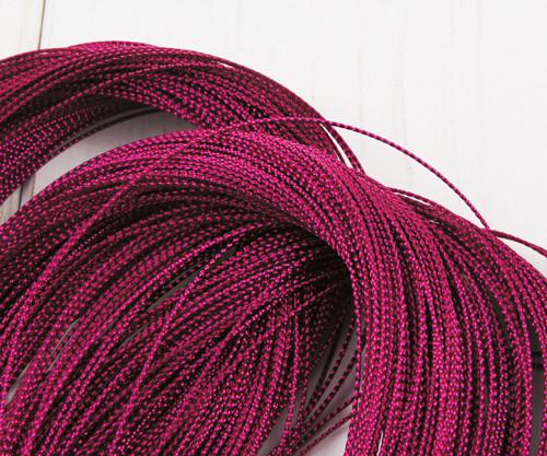 30m 98ft 32yrd Metalíza Růžová Červená Nit Kabel T