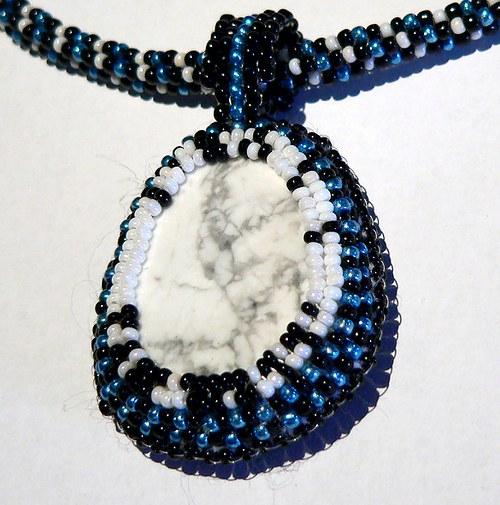 výprodej ze 460,- námořníček - náhrdelník magnezit