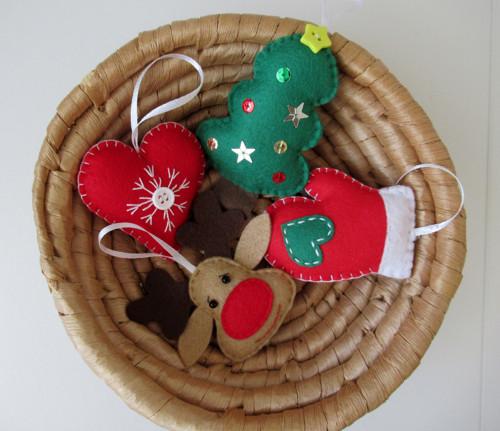 Vánoční ozdoby - sada