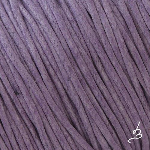 Bavlněná šňůrka 1 mm fialová