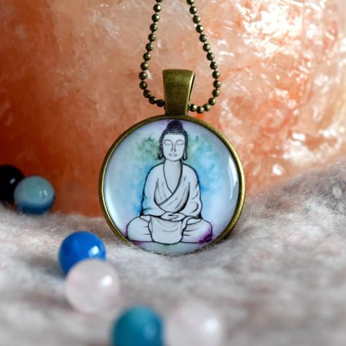 Buddha-náhrdelník