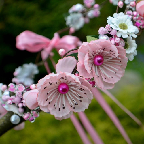 Věneček do vlasů Sakura
