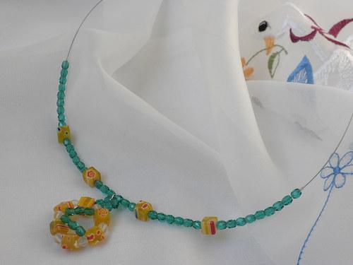 Pestrý náhrdelník