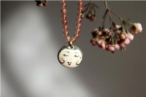 Dáma s mikádem - náhrdelník