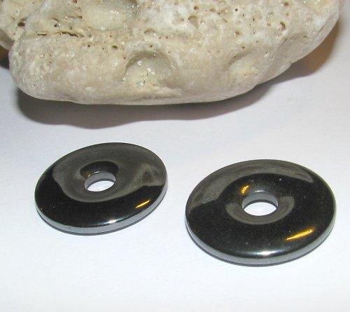 HT306 Hematit - hemalyke donut 24 mm
