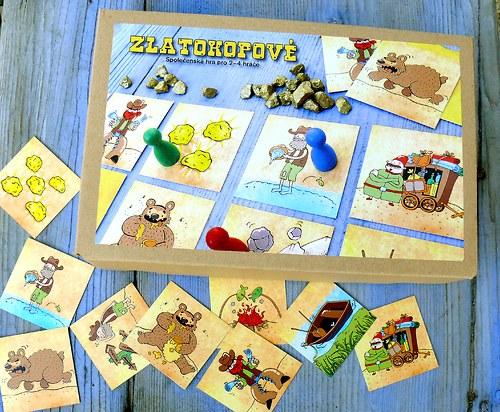 Originální stolní hra Zlatokopové