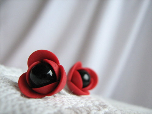 Poppy, náušničky