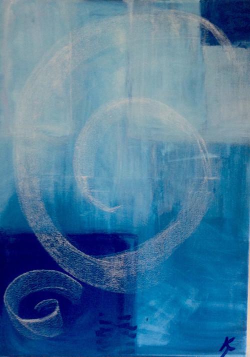 Blue jeans 50x70cm