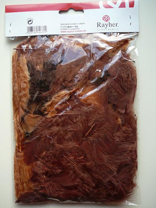 Barevné peří 10 g