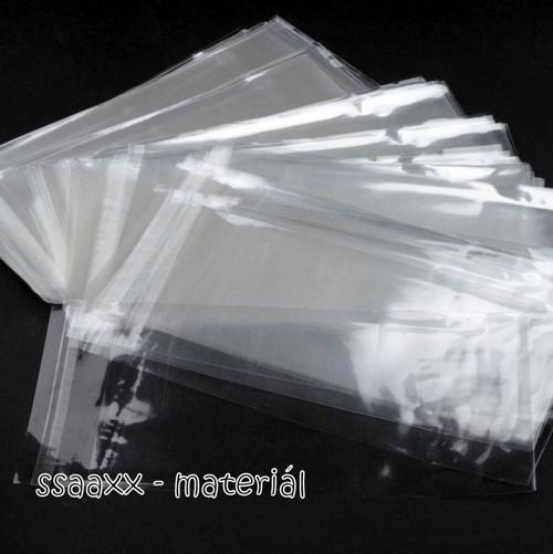 Sáčky s lepící lištou ~ 11x20 ~ 10 ks