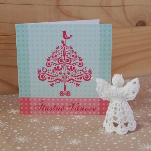 Vánoční přání - Stromeček VI