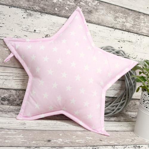Polštářek HVĚZDA STARS růžová