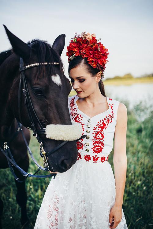 """Červená svatební parta \""""Slavianka\"""""""
