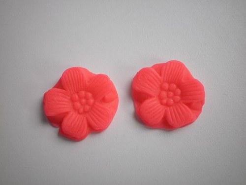 květ - kabašon - obšívací - nalepovací reflexní