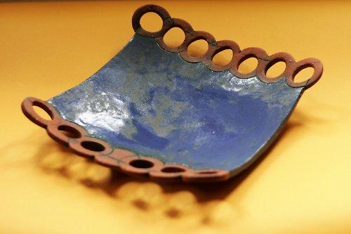 Keramická mísa modrá