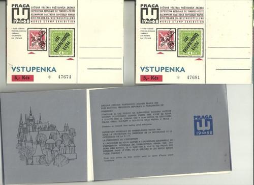 Z historie mezinárodní výstava známek 1968