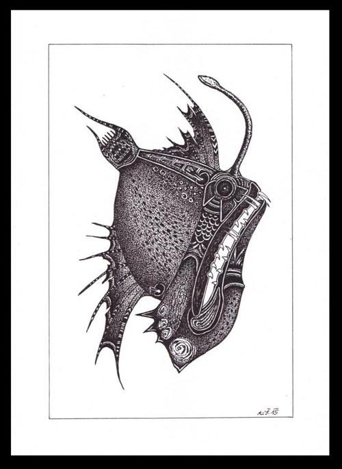 Děsná ryba