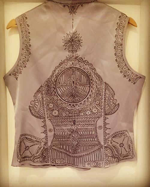 "Vestička s handmade ornamentem \""TAO JAPONIE\"""