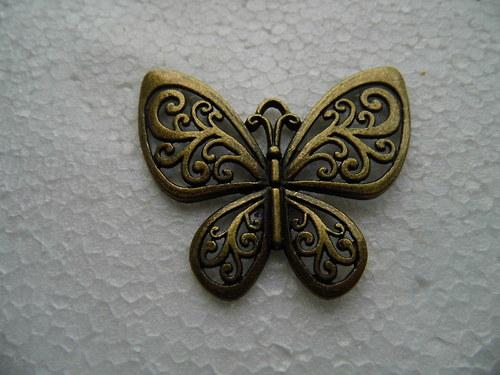 přívěsek motýl 50x56/