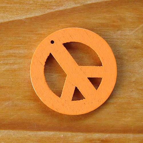 Dřevěný Hippies - Oranžový
