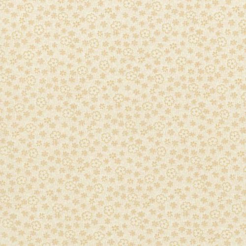 Bavlněná látka T0133-Cream Flora