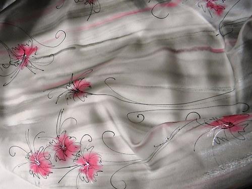 Afrodíté / šátek 75 x 75 cm/