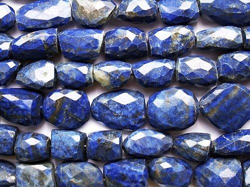 Lapis lazuli - broušené kameny