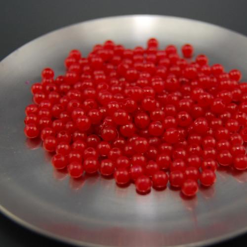 Korálky plastové kulička Ø 5mm cca 170Ks KK12