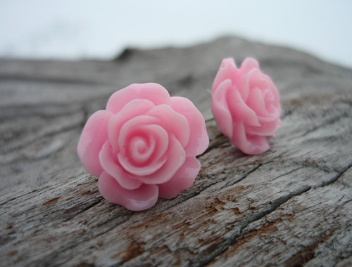 Náušnice Růžičky Sweet Rose napichovačky