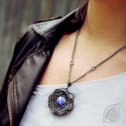 Jádro komety (náhrdelník)