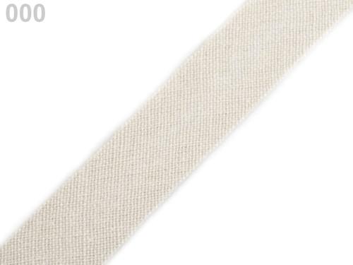 Šikmý proužek 14 mm zažehlený (5m) - papyrus