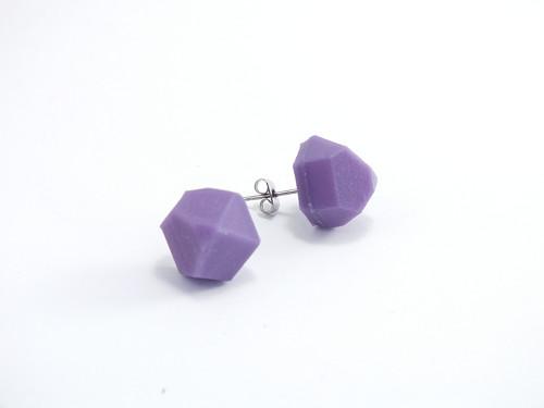 Náušnice krystal violet