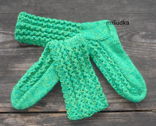 Ponožky jako od maminky -   zelené 30