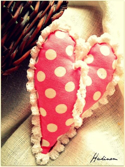 Srdce z lásky-růžové