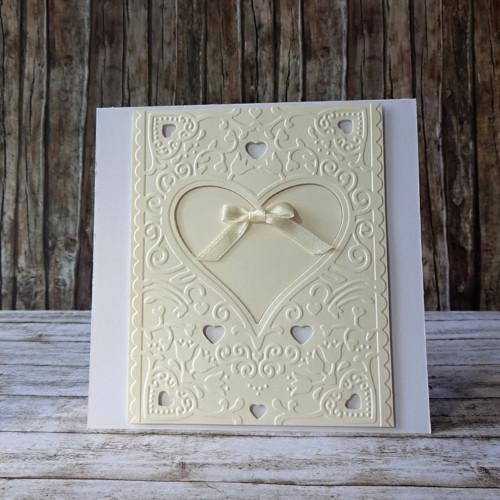 Svatební přání  - srdce 7